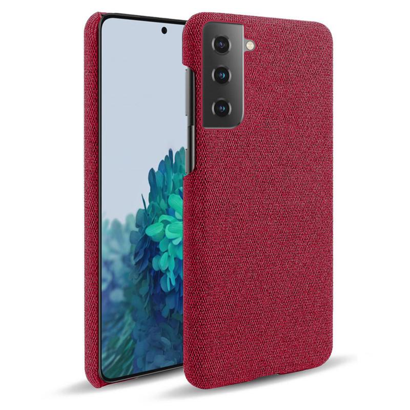 Casing Samsung Galaxy A5 A6 A7 A8 Plus A9 Star Pro Lite 2018 A8S A9S Retro Woven Cloth Anti-scratch PC Back Cover Hard Case