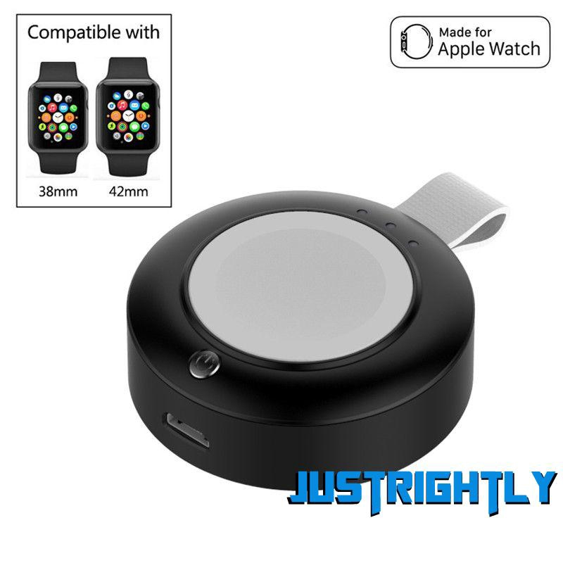 Jry₪New 3 in 1 QI Fast Wireless Magnetic Charger Portable Charger Stand For Apple Watch