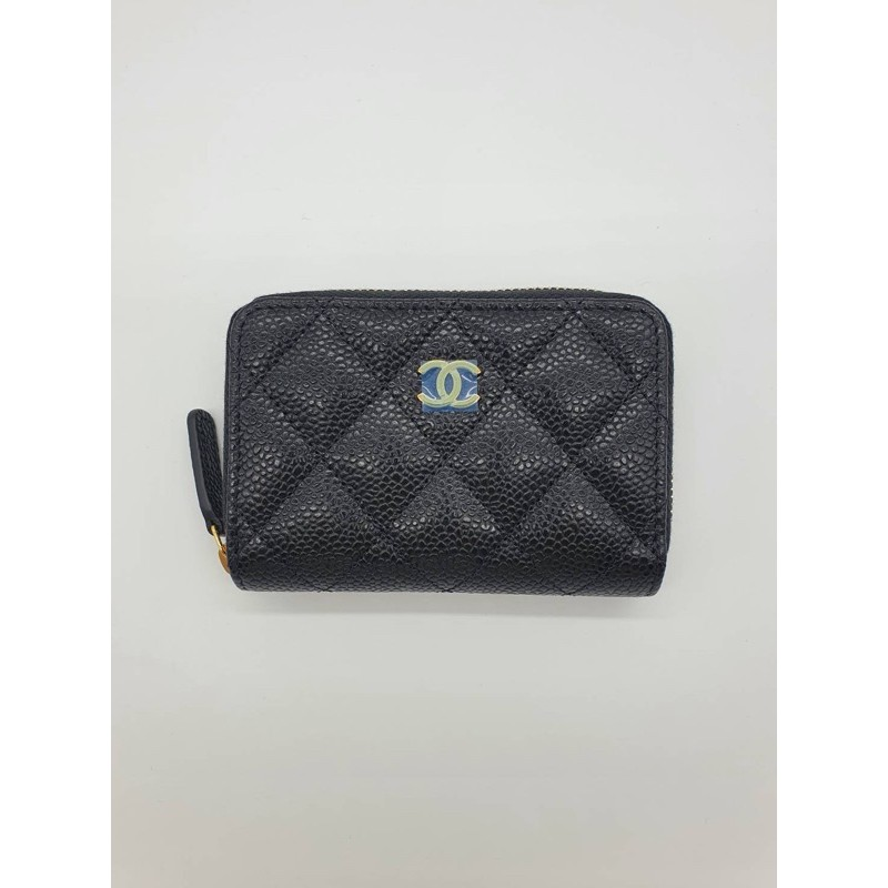 chanel zippy cardholder