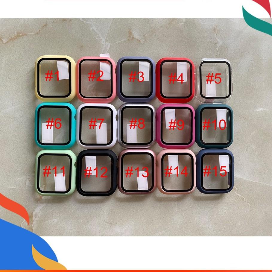 applewatch เคส applewatch series 6 se 5 3 4 1 2 iwatch 44 มม. 38 มม. 40 มม. 44 มม. Case กระจกนิรภัย ป้องกันหน้าจอ ฝาครอบ