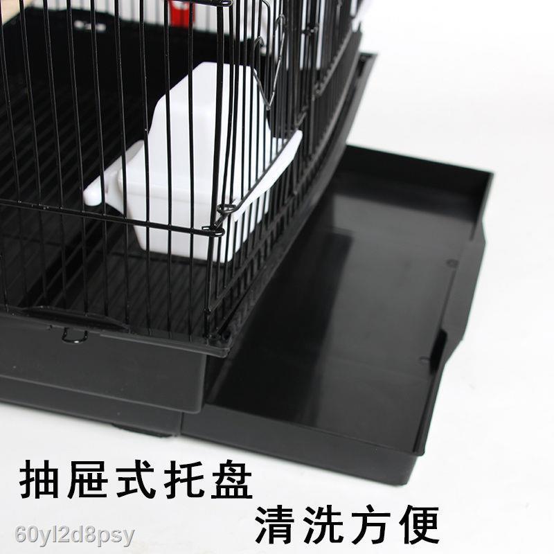 ✐♟☬ใหม่กรงนกขนาดใหญ่ Myna Mynah Xuanfeng budgerigar birdcage วิลล่าหรูขนาดใหญ่กล่องเพาะพันธุ์นกเหล็กดัด