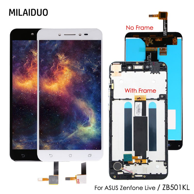 Original For Asus ZenFone Live ZB501KL X00FD LCD Display Touch Screen