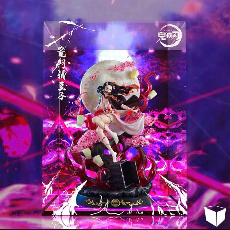 【yz】 Demon Slayer action figure GK Nezuko Demon Transformation Kamado Nezuko Exploding Blood Version Anime figure model