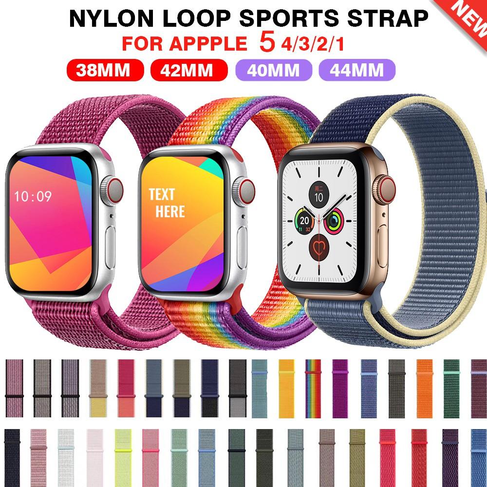 【ตามเรามา฿ 10】สายนาฬิกาข้อมือ สำหรับ สาย applewatch 6 44 มม 42มม 38มม 40มม iwatch series 6 se 5 4 3 2 1 สายนาฬิกา