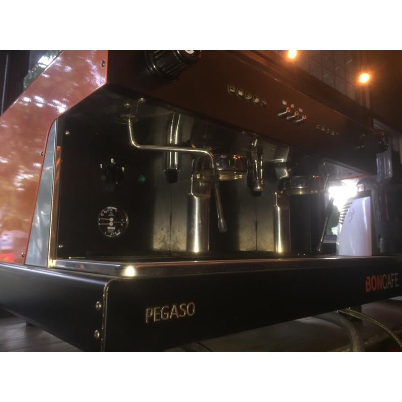 BONCAFE PEGASO เครื่องทำกาแฟพร้อมเครื่องบดกาแฟ