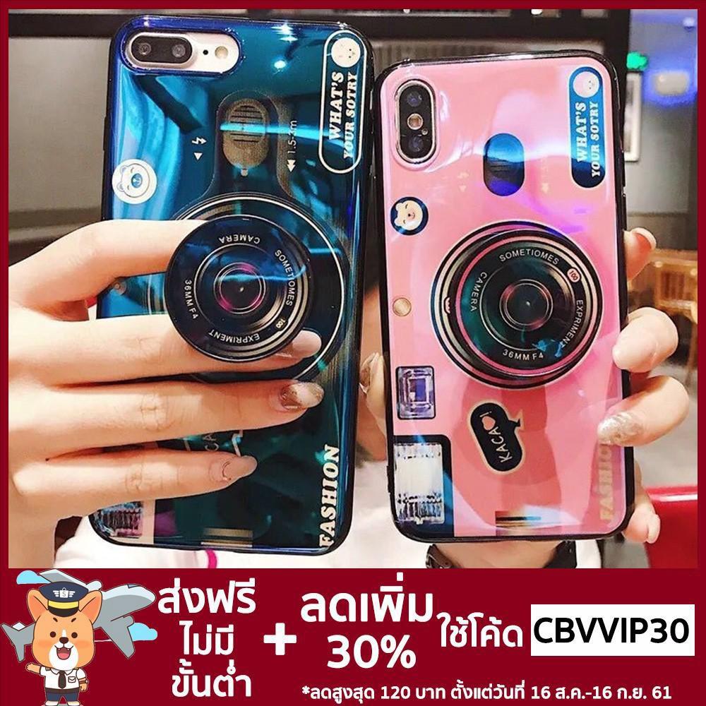 **โค้ด CBVVIP30 ลด 30%** เคสโทรศัพท์มือถือ Huawei NOVA 2i 2 Lite 3i nova3i  Hot popsocket Blue Ray