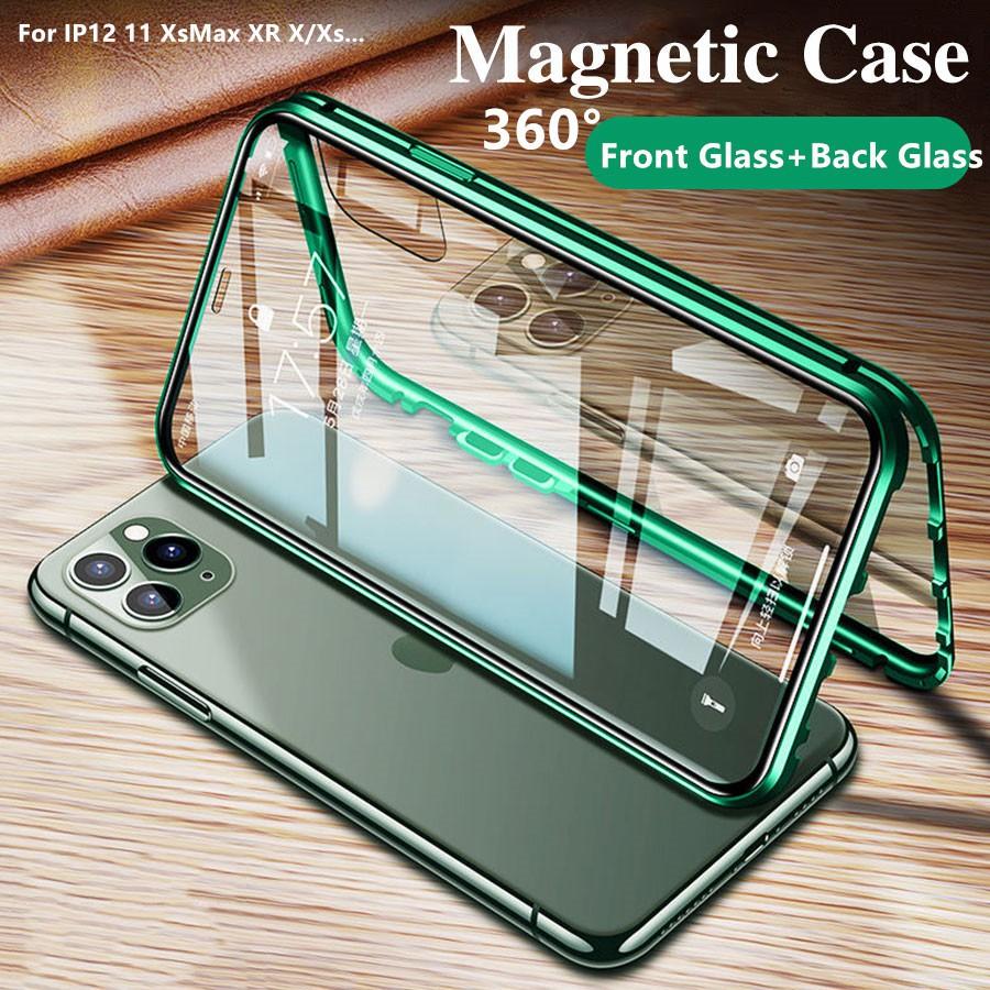 เคสโทรศัพท์มือถือแบบสองด้านสําหรับ Iphone 11 Pro Max 12 Pro 12mini 11pro