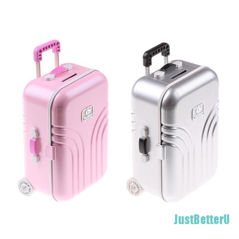 [Tery] กระเป๋าเดินทางสําหรับตุ๊กตาอเมริกันขนาด 18 นิ้ว (only Suitcase) ZX