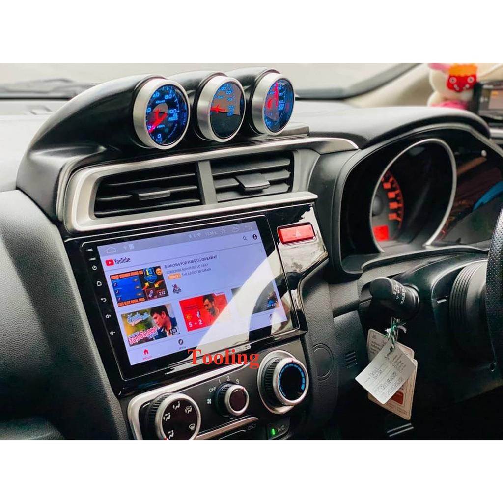 "Alpha Cousticจอแอนดรอยด์ตรงรุ่น Honda Jazz GK ปี 2014-ปัจจุบัน จอตรงรุ่น9""จอพร้อมหน้ากากและปลั๊กตรงรุ่น มี DSPในตัว"