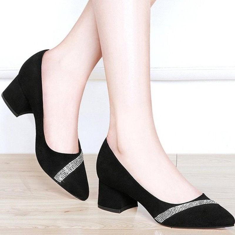 รองเท้าส้นสูง❤️รองเท้าผู้หญิง💖รองเท้าคัชชู💖รองเท้าส้นแก้ว💖รองเท้าคัทชูผู้หญิงรองเท้า ส้นสูง รองเท้าส้นสูงแฟชั่น  ส้นต
