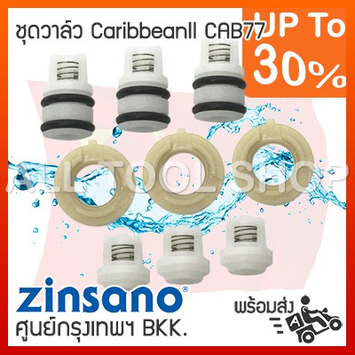 ชุดซีล-ชุดวาวล์ เครื่องฉีดน้ำ ZINSANO CARIBBEAN2 AMAZING CAB77-KITVAL43 ชุดวาล์ว ซินซาโน่