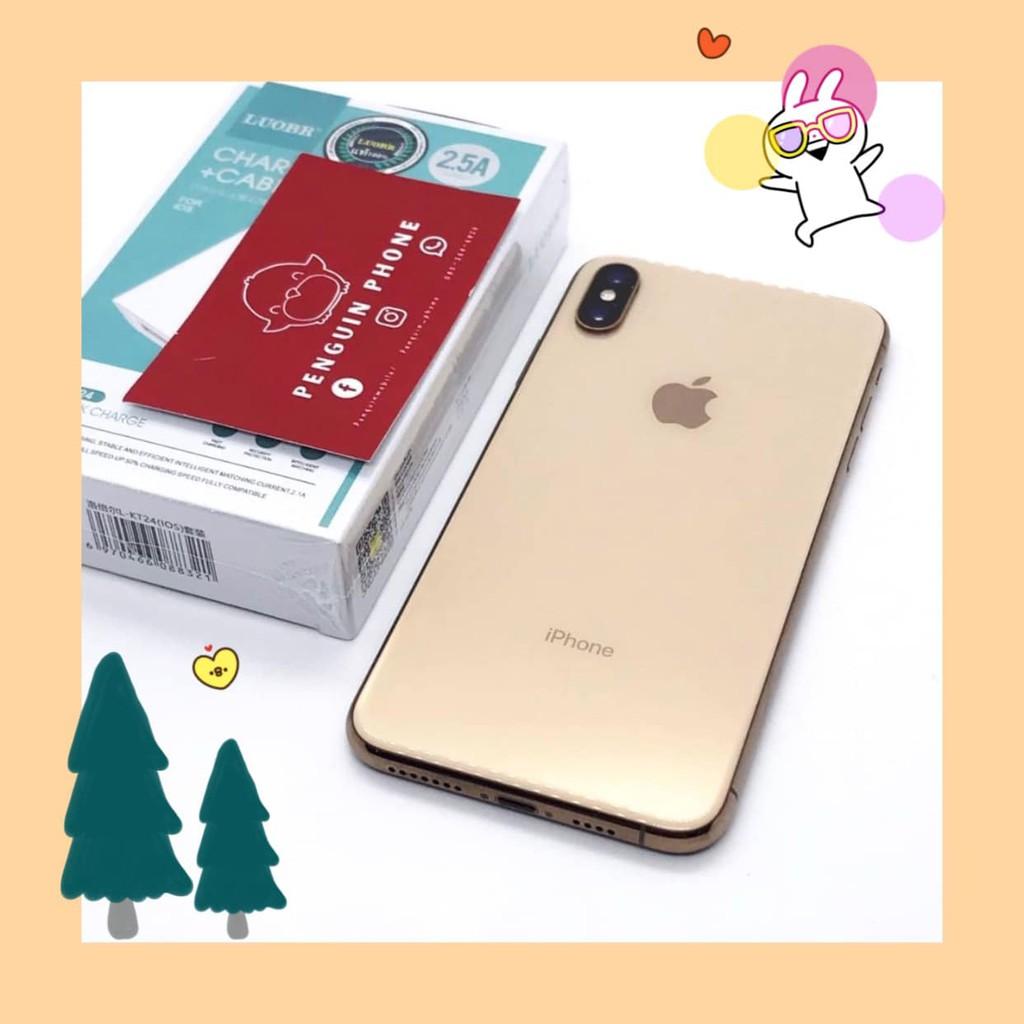 iPhone Xs Max 256GB สี Gold มือสอง สภาพ 95% [โทรศัพท์มือสอง มือสอง โทรศัพท์ราคาถูก โทรศัพท์มือสองราคาถูก ราคาถูก]