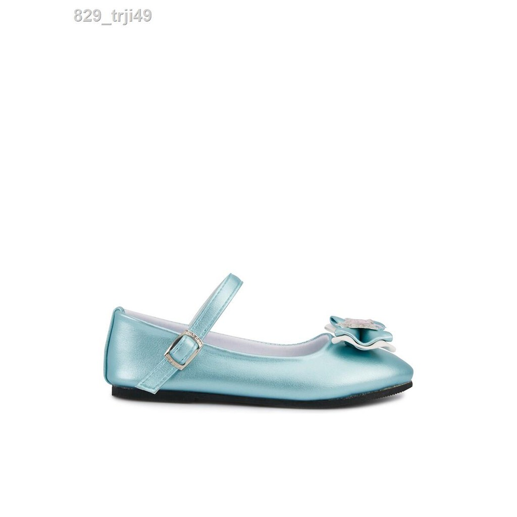 เตียงเด็ก◑✉DISNEY รองเท้าคัชชูเด็กผู้หญิงรองเท้าแฟชั่นเด็กผู้หญิงเด็กลวก