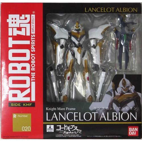Lancelot Albion Code Geass Lelouch of Rebellion R2 Robot Spirit SIDE KMF R Number 020 Figure