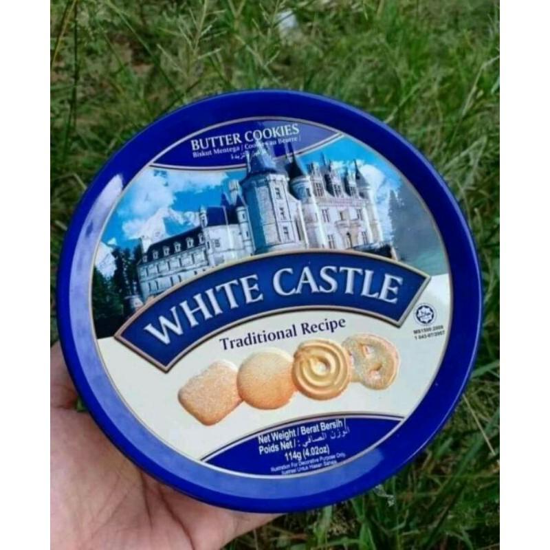 พร้อมส่งไม่ต้องรอ✅คุกกี้เนยสด Butter Cookies White Castleหอมเนยสด คุกกี้พระราชวัง🏯สินค้านำเข้าจากมาเล ฮาลาล💯