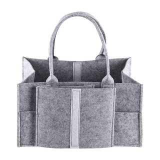 Baby Nappy Storage Bag,Infant Nappy Storage Bin Baby Diaper Wipes Bag Caddy Organizer Basket Nappy Bag Dispenser