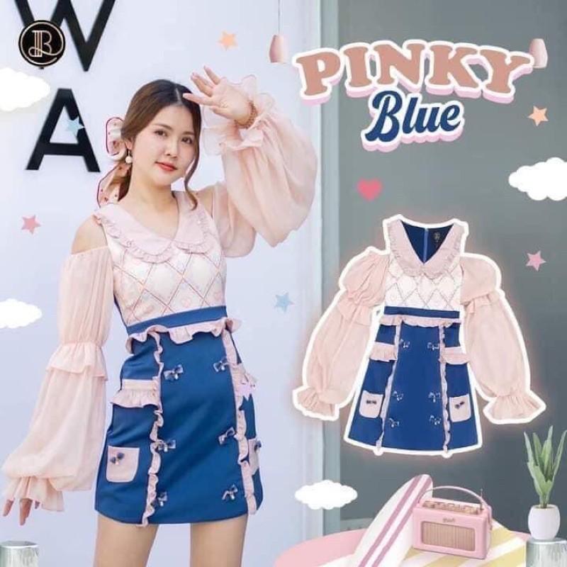 📮ส่งฟรี✨BLT ไซส์ XS 🔖Qcมือ1ป้ายห้อย Pinky Blue