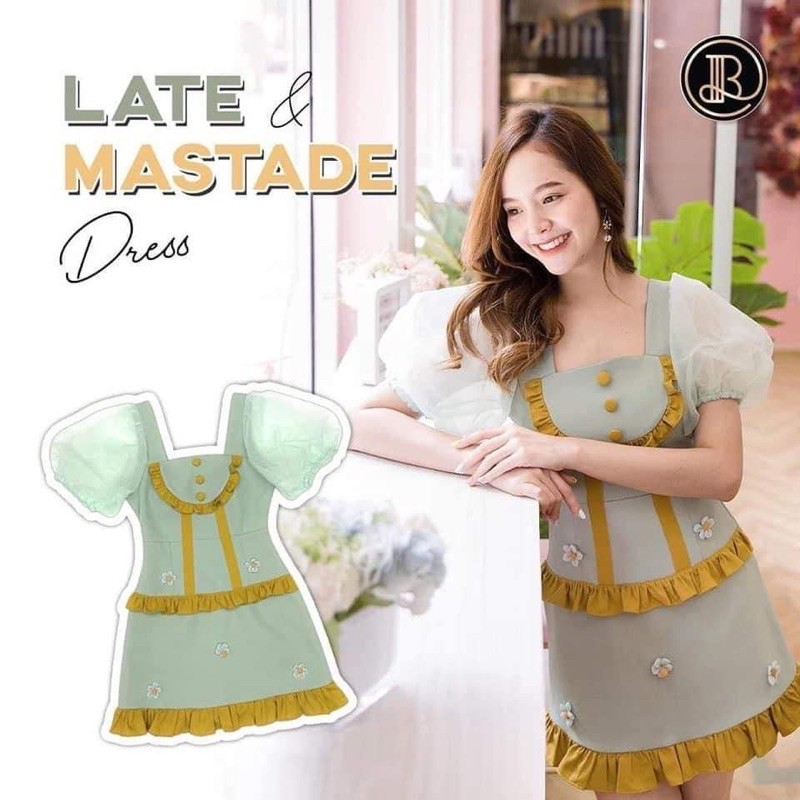 Late & Mastade dress -BLT brand (XS)