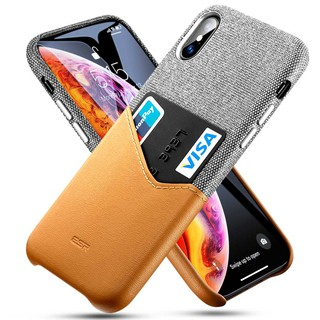 Review ESR เคส iPhone X XR Wallet Case for iPhone Xs iPhone Xs Max Case with ID&Card Holder Slot กรณีช่องเสียบการ์ด