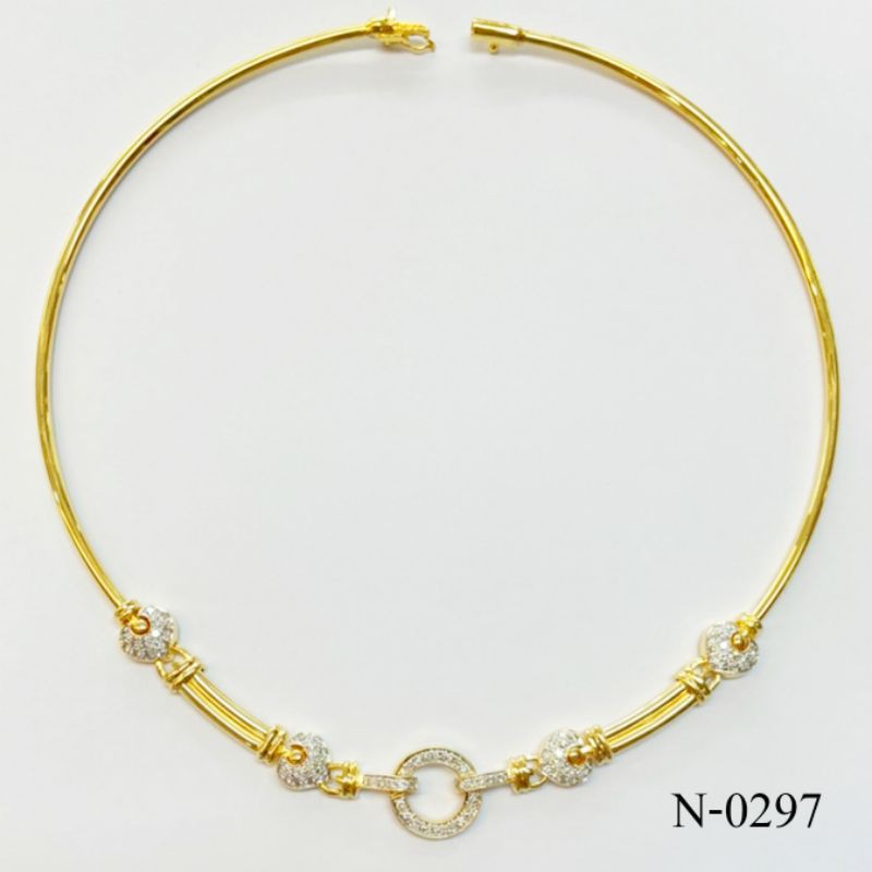 N-0297สร้อยคอเพชรแท้ นน. ทอง29.29 g. เพชรแท้ 0.98 Cts. ราคา 98,500 บาท