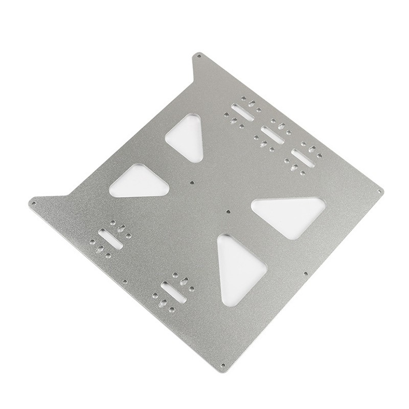 3D Printer Heat Bed Anodized Aluminum Y Carriage Plate for Prusa i3 Anet A8