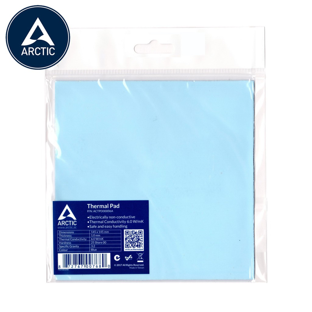 Thermal Pad 145 x 145 x 1.0 mmThermal Pad for All CPU CoolersE... Arctic