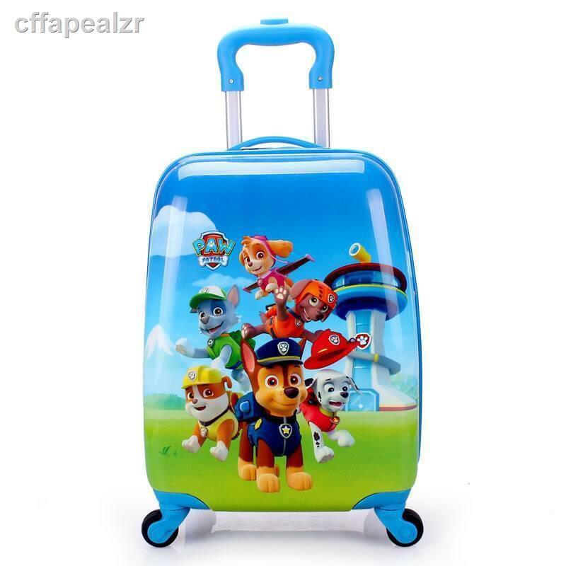 กระเป๋าเดินทางสําหรับเด็กกระเป๋าเดินทางการ์ตูนเด็ก 18 นิ้วกระเป๋าเดินทางกระเป๋าเดินทางเด็กกระเป๋ารถเข็น 19 นิ้วกระเป๋าเ