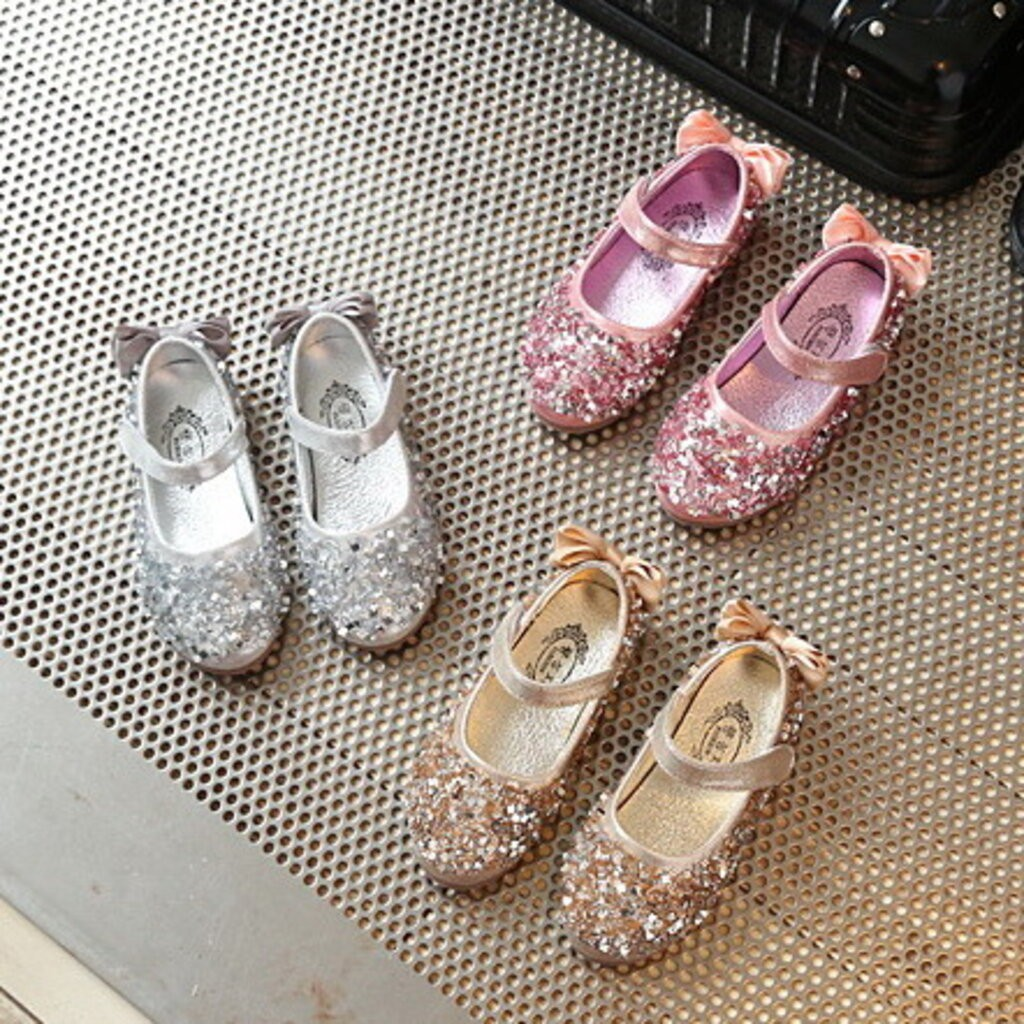 รองเท้าคัชชู⌵รองเท้าสลิปออนผู้หญิง Shoe14981 รองเท้าคัชชูเด็กเล็ก รองเท้าคัชชูเด็กโต (ความยาววัดจากพื้นภายใน ให้ใช้ความย
