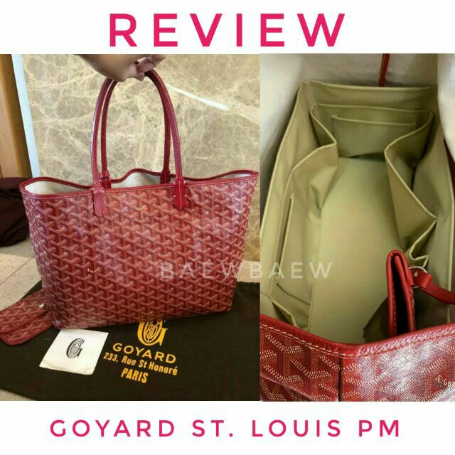 ที่จัดระเบียบกระเป๋า Goyard St. Louis pm