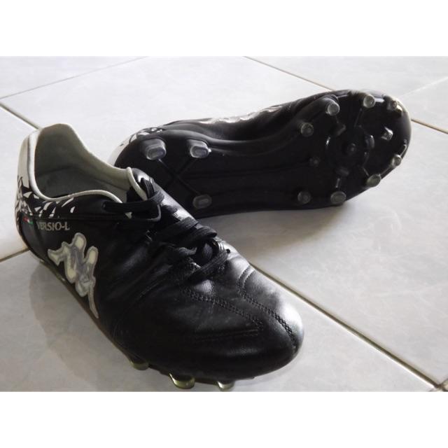 รองเท้าสตั๊ด Kappa รุ่น Versio-Leather หนังแท้ (มือสอง) ขาย!!