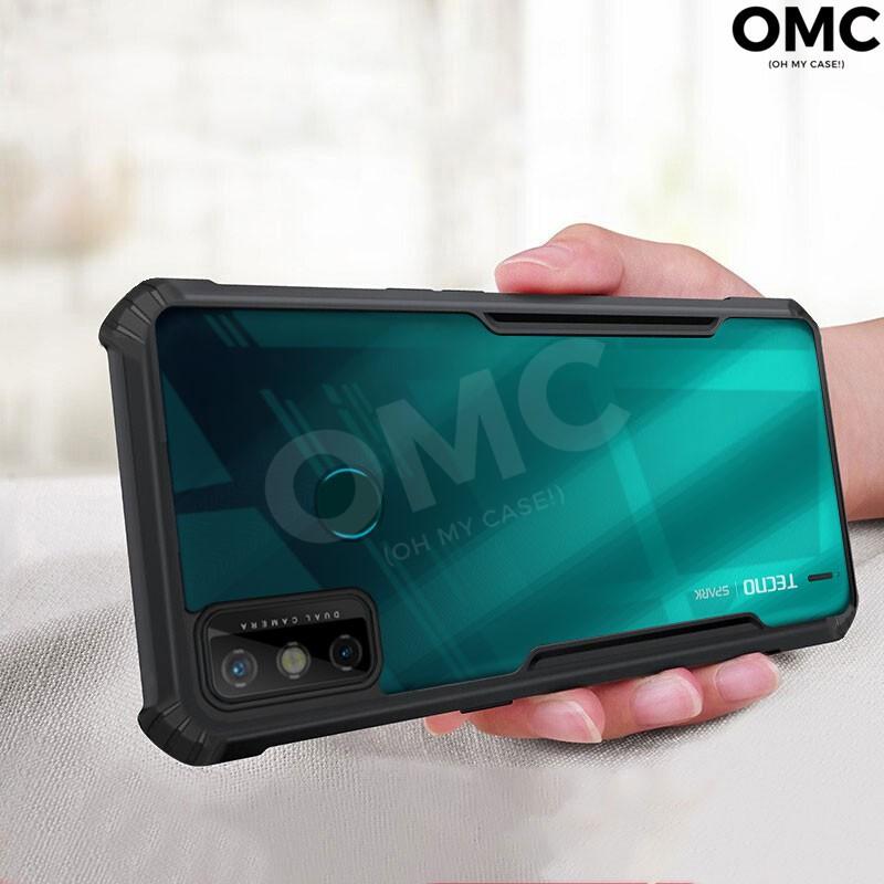 For Tecno Spark 6 Go Case Soft Bumper Hybrid Transparent Shockproof Cover