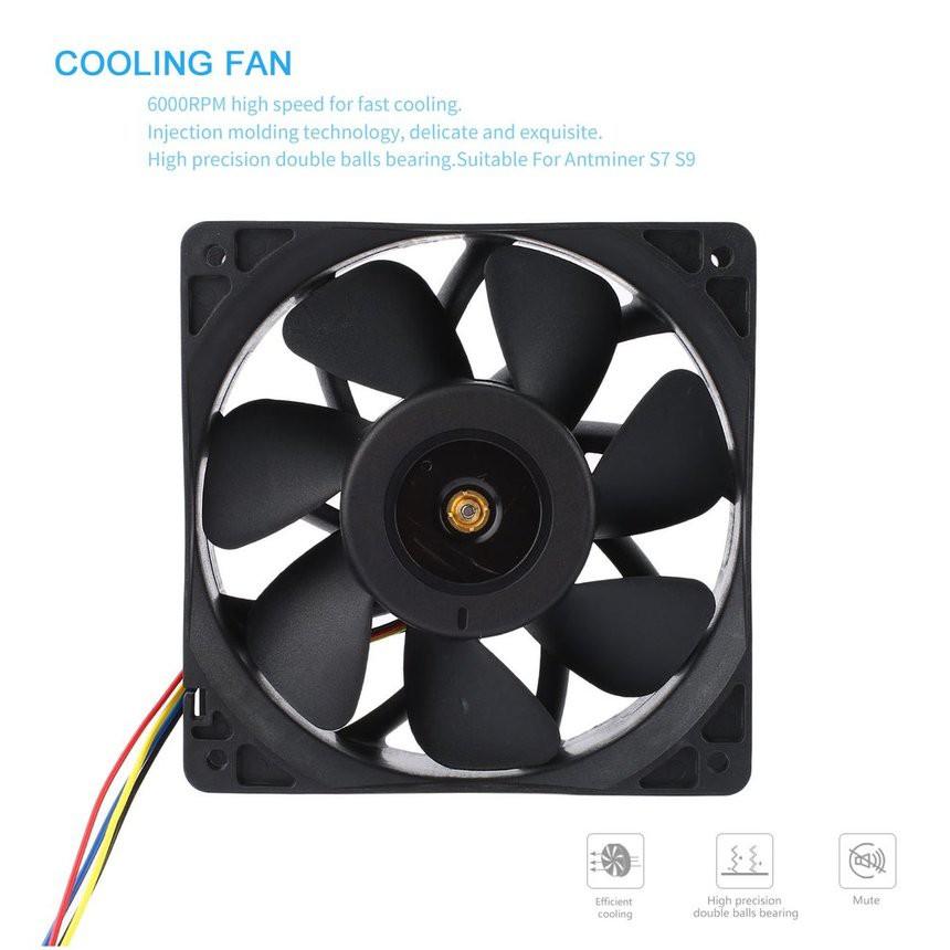 4-Pin Molex 80mm CPU Case CF-202 Power Supply Ball Bearing Cooling Fan