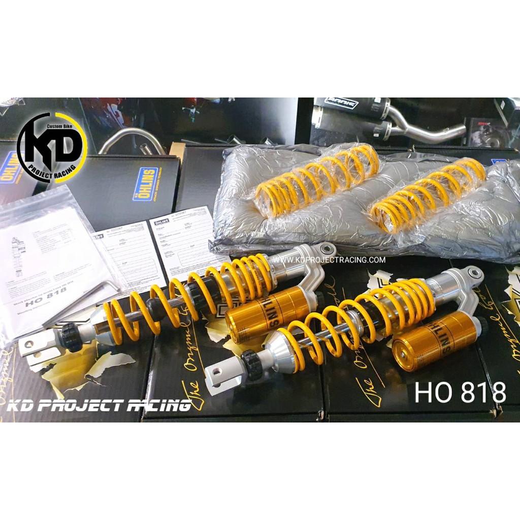 โช๊คหลัง OHLINS HO818 Honda Forza 300 , 350 แท้ 100%