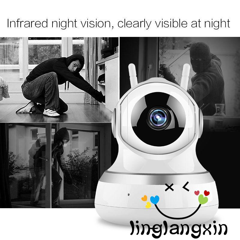 Home Security HD IP Camera Wireless CCTV Surveillance Night Vision Wifi Camera