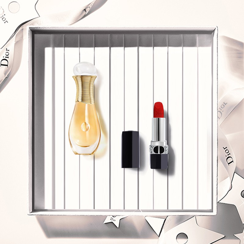 ✑㍿[Official Authentic] Dior Dior Goddess Accompanying Gift Box Lipstick 999 720 True Self Fragrance