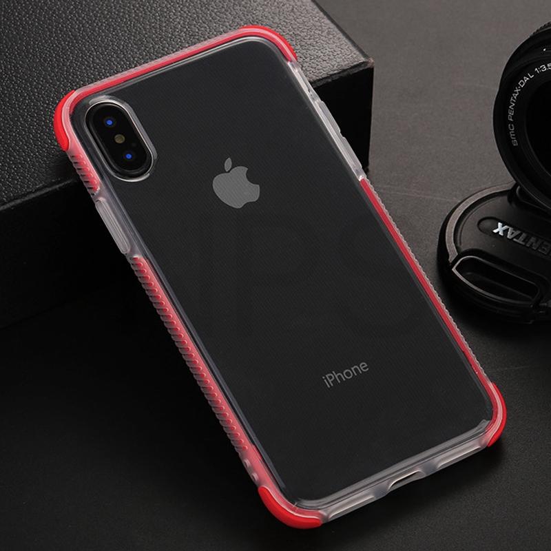 เคสโทรศัพท์มือถือแบบสองชั้นสําหรับ Iphone X Xr Xs Max 10 7 8 6 S 6 Plus 11 Pro Max 6 D Gasbag