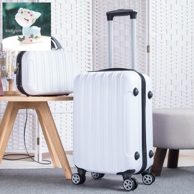 มินิ 14 แต่งหน้ากระเป๋าถือกระเป๋าเดินทางหญิงกระเป๋าเดินทางขนาดเล็กชายรหัสผ่าน 16 กระเป๋าเดินทางรถเข็น 18 ล้อสากล 20 นิ้ว