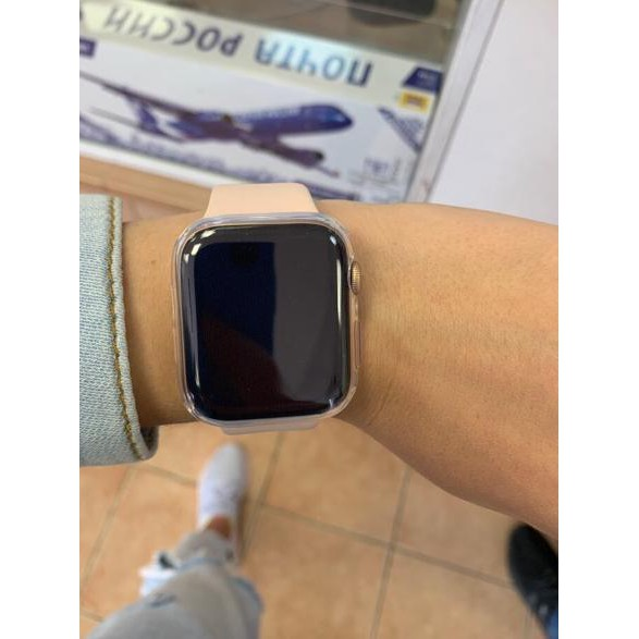 (premium) เคสซิลิโคนใสสําหรับ Applewatch Series 1-4