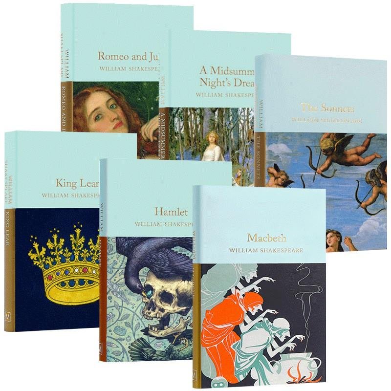 Hot Books Library Series Romeo And Juliet Hamlet King Lear Macbeth หนังสือสําหรับเก็บสะสม