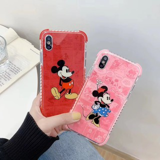 Review เคส iPhone 11 Pro Max XS Max X XR iPhone 7 8 Plus iPhone 6 6S Plus Cute Cartoon มิกกี้ Mickey Soft Case