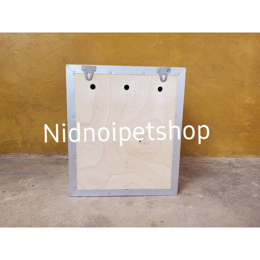 ◄กล่องเพาะนก( กล่องเพาะ ทรงเหลี่ยมสั้น )รังเพาะนก กล่องนอน บ้านนก หงส์หยก เลิฟเบิร์ด ค็อกคาเทล ฟอพัส ฟินซ์ ราคาโรงงานเลย