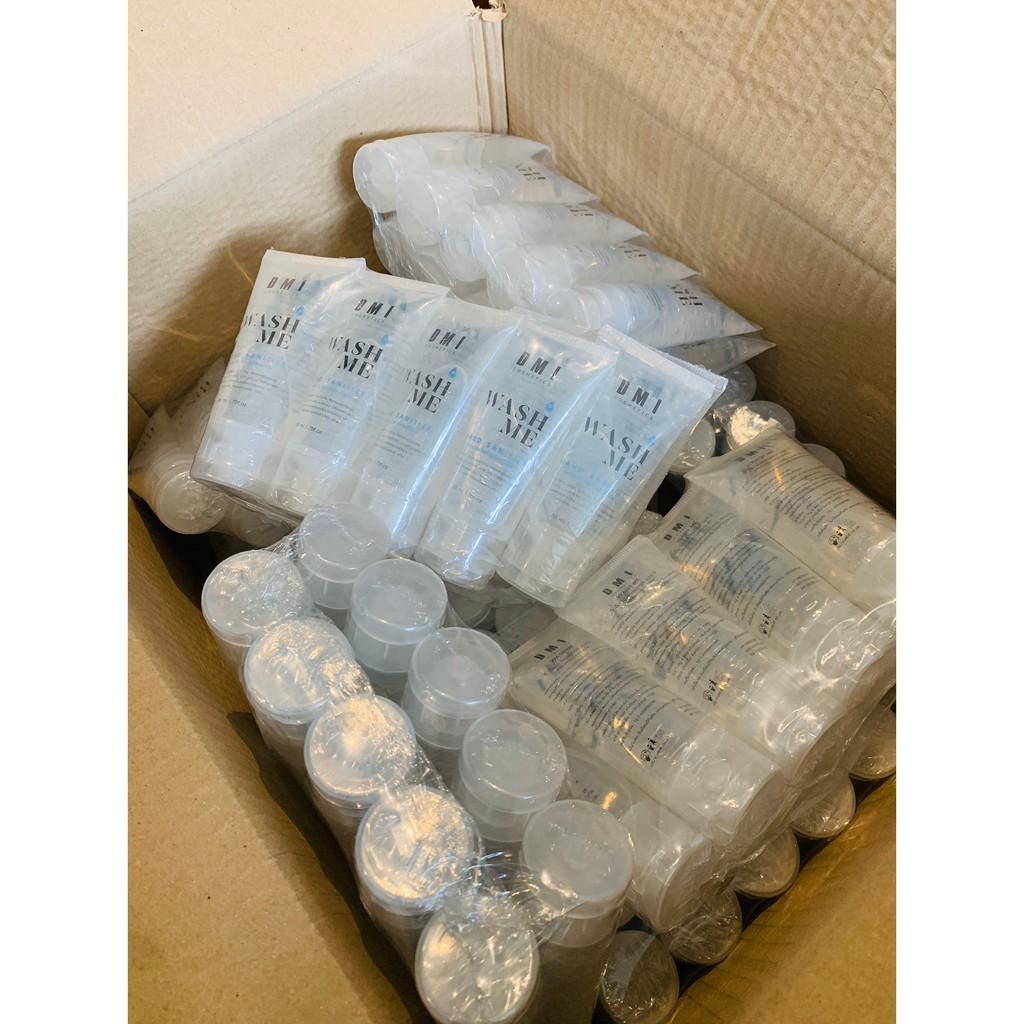 คุ้มที่สุด!!! ยกแพ็ค 100 หลอด เจลล้างมือแอลกอฮอล์แบบไม่ต้องล้างออก 50ml เกรดมาตรฐานโรงพยาบาล มีอย.