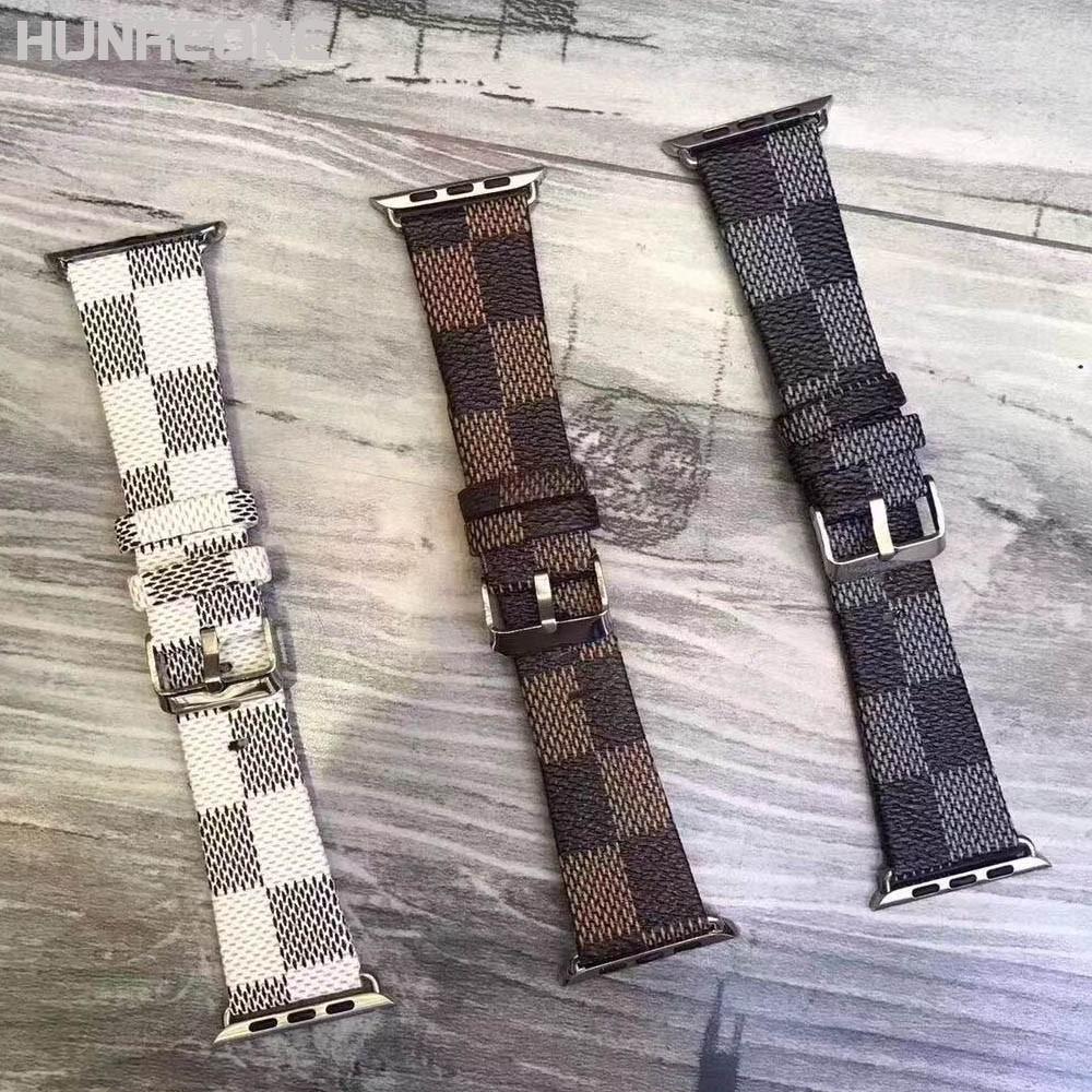 สายนาฬิกาข้อมือหนัง 38 40 42 44 มม . สําหรับ Apple Watch Series 1 / 2 / 3 / 4 / 5