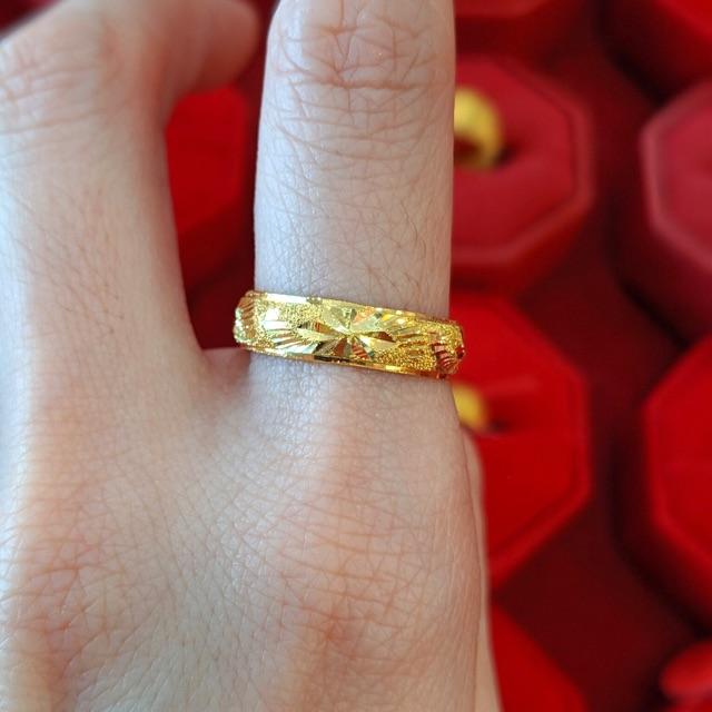 เเหวนทอง1/2สลึง#55 ราคา 3250.-บาท ทองเเท้