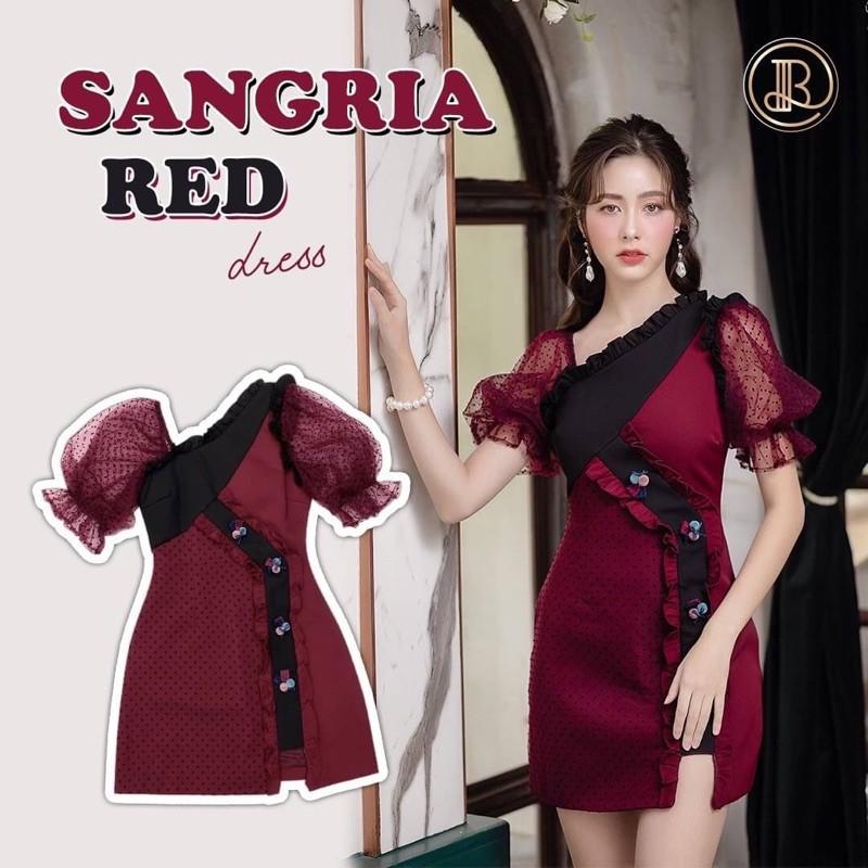 BLT brand Sangria red