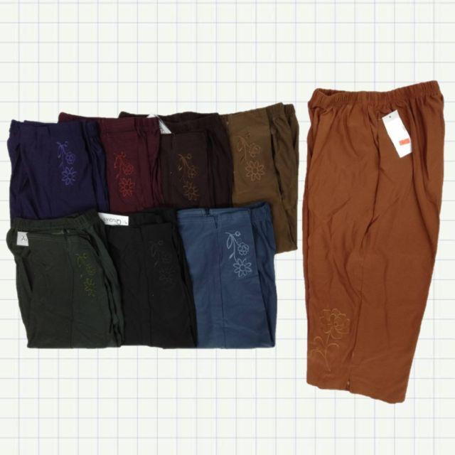 กางเกงคนแก่ กางเกงผู้หญิง ผ้านิ่มม ไซส์เล็ก,ไซส์ใหญ่
