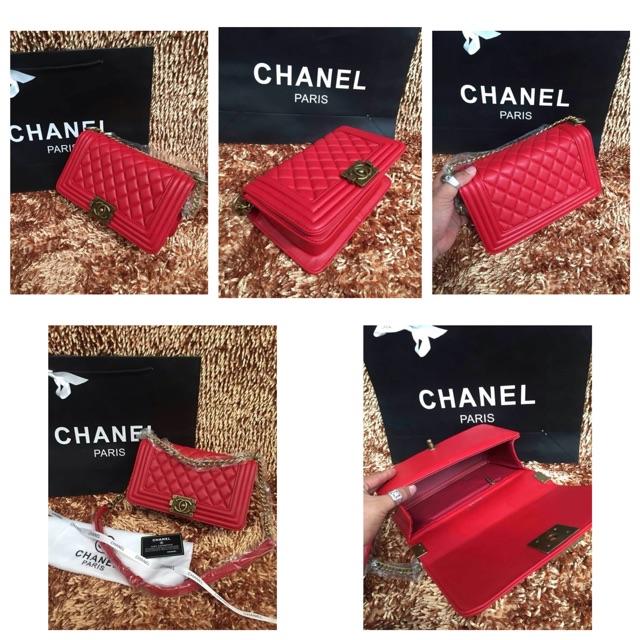 เป๋า Chanel boy
