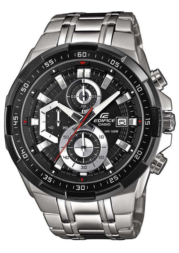 (สินค้าใหม่ล่าสุด) Casio Edifice รุ่น EFR-539D-1AV สินค้าขายดี นาฬิกาข้อมือผู้ชาย สายสแตนเลส arkT