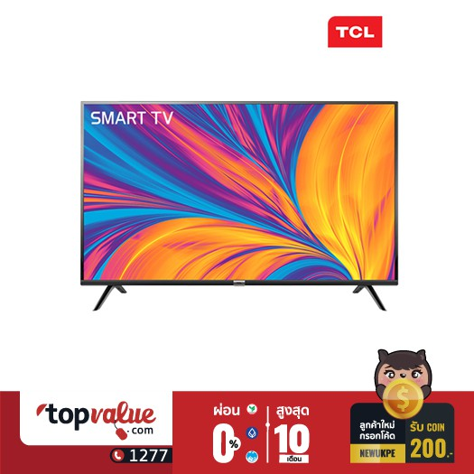 TCL ANDROID TV FULL HD 49 นิ้ว รุ่น 49S6500