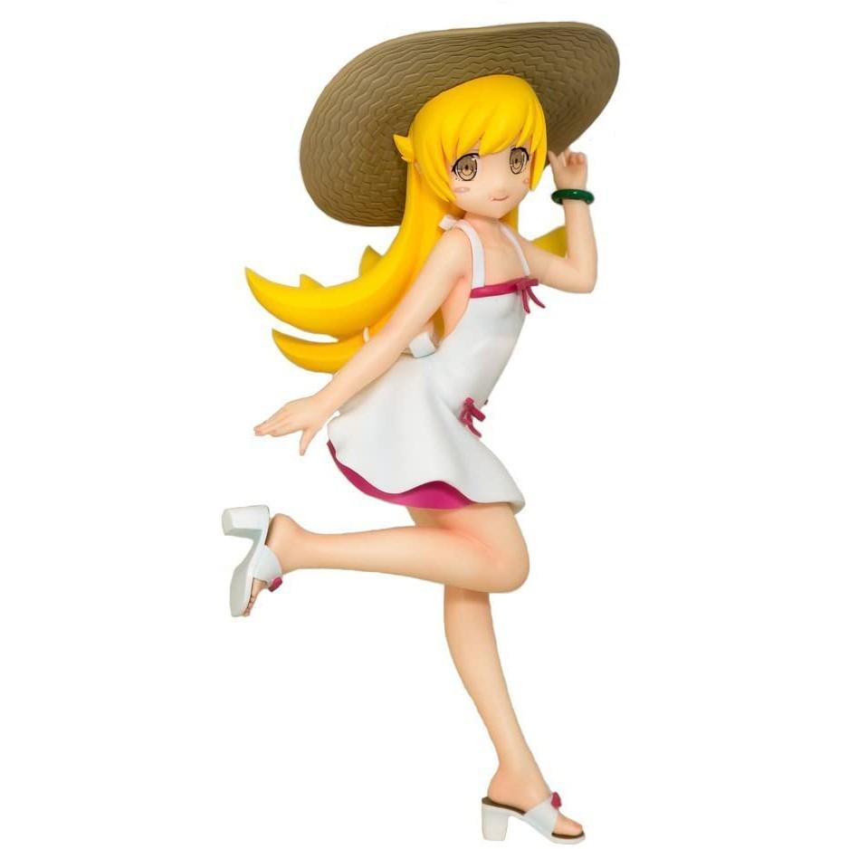 (แท้/มือหนึ่งกล่องคม) Sega Monogatari Series Shinobu Oshino Premium Figure